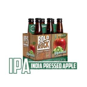 Bold Rock India Pressed Apple Cider (12 fl. oz. bottle, 6 pk.)