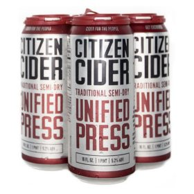 Citizen Cider Unified Press Cider (16 fl. oz. can, 4 pk.)