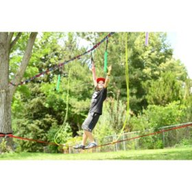 Slackers Ninjaline Ropes Course Kit
