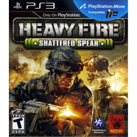 Heavy Fire: Shattered Spear - PS3