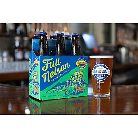 Blue Mountain Full Nelson Virginia Pale Ale (12 fl. oz. bottle, 6 pk.)