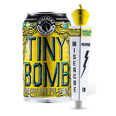 Wiseacre Tiny Bomb American Pilsner (16 fl. oz. can, 24 pk.)