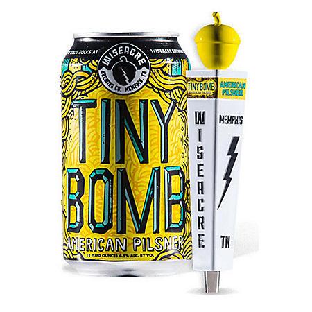 Wiseacre Tiny Bomb American Pilsner (16 fl. oz. can, 24 pk.)