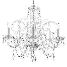 Harrison Lane Venetian-Style Crystal Chandelier