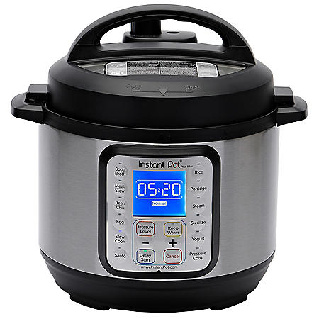 Instant Pot 3-Quart Duo Plus Mini 9-in-1 Multi-Use Programmable Pressure Cooker