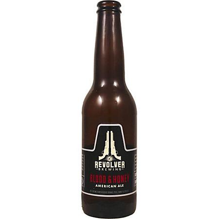 Revolver Blood & Honey American Ale (12 fl. oz. bottle, 24 pk.)