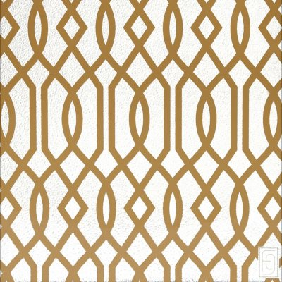 Fusion Gates Designer Pet Gate Screen, Gold Lattice