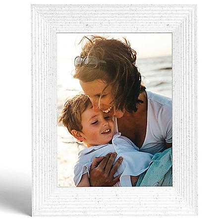 Aura Mason White Smart Digital Photo Frame - AF200WHT