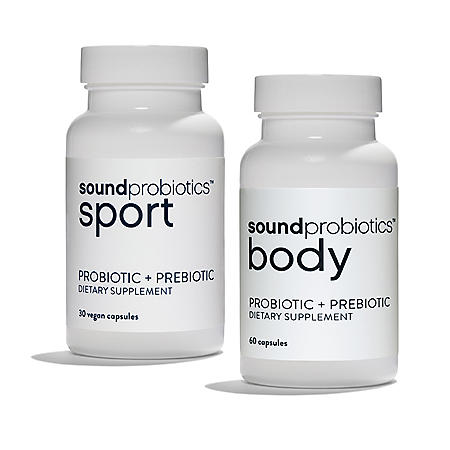 Sound Probiotics Ultimate Fitness Sport and Body (2 pk.)