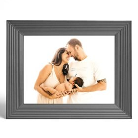 Aura Mason Graphite Smart Digital Photo Frame with Spring Bonus Card