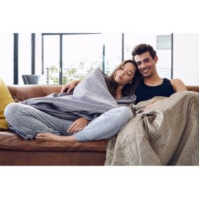 20 lb. Weighted Anti-Anxiety Blanket (Assorted Colors)