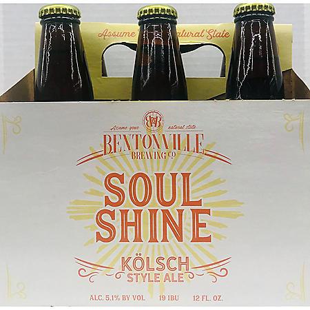 Bentonville Brewing Soul Shine Kolsch (12 fl. oz. bottle, 6 pk.)