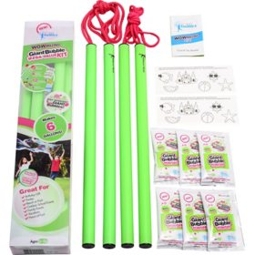 WOWmazing Giant Bubble Wands Mega Value Kit (21-Piece Set)