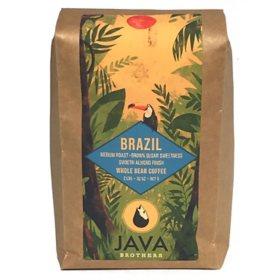 Java Brothers Brazil Medium Roast Coffee, Whole Bean (2 lb.)
