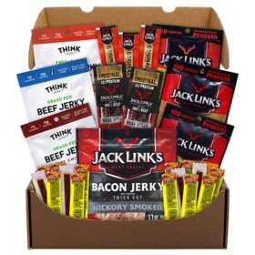 Snack Box Pros Big Beef Jerky Box Sam S Club