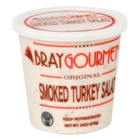 Bray Gourmet Smoked Turkey Salad (24 oz)