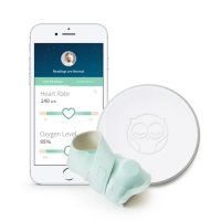 Owlet Smart Sock 2 Baby Monitor with Free One Year Subscription to Connected Care Wellness Tracking
