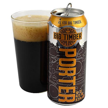 Big Timber Porter (16 fl. oz. can, 4 pk.)