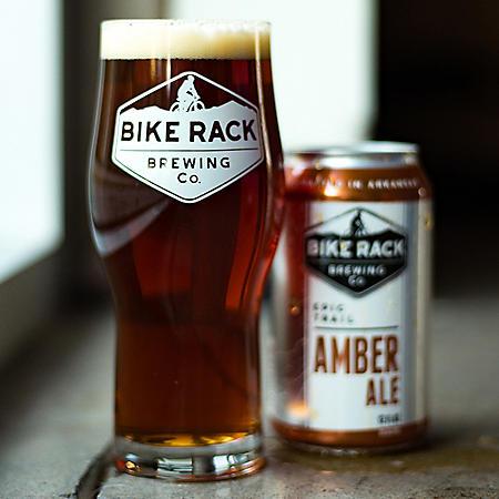 Bike Rack Amber Ale (12 fl. oz. can, 6 pk.)