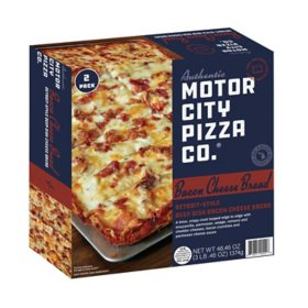 Motor City Bacon Cheese Bread, Frozen (48.46 oz.)