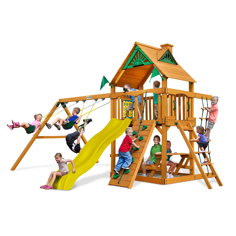 Gorilla Playsets Sunbeam Cedar Wooden Swing Set