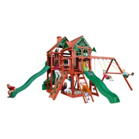 Gorilla Playsets Big Timber Cedar Swing Set