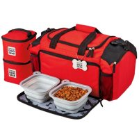Mobile Dog Gear Ultimate Week Away Duffle Bag, Medium/Large Dogs (Choose Your Color)