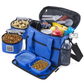 Overland Dog Gear Week Away Travel Bag for Small Dogs (Choose Your Color)