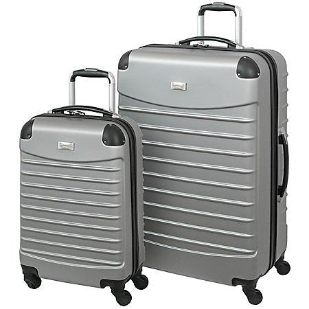 Geoffrey Beene 2-Piece Hardside Luggage Set