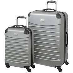 Geoffrey Beene 2 Piece Hardside Luggage Set