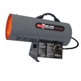 Dyna-Glo Delux Portable Propane (LP) Forced Air Heater - 60,000 BTU