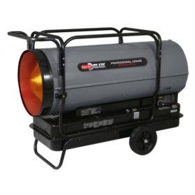 Dyna-Glo Delux Portable Multi-Fuel Forced Air Heater - 650,000 BTU