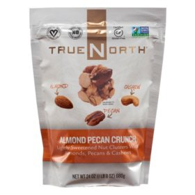 True North Almond Pecan Cashew Clusters (24 oz.)