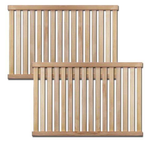 Solid Wood Deluxe Adjustable Tower Shelf - 2 pk.