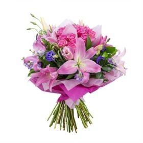 Mother's Day Eternal Love Bouquet, Vase Included (Pre-Order)