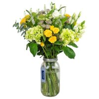 Country Living Floral Collection Sunflower Bouquet in Vase (24 stems)