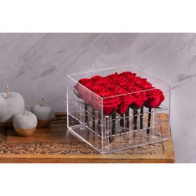 Everlasting Rose Box, Red