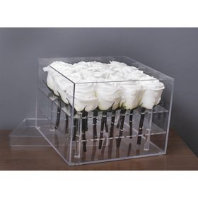 Everlasting Rose Box, White