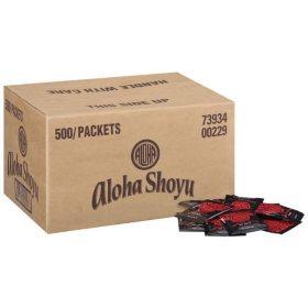 Aloha Shoyu Soy Sauce Packets - 500ct/0.20oz