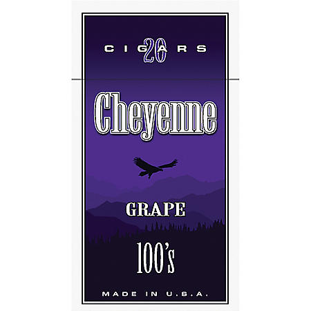 Cheyenne Cigars 100's, Grape (20 ct., 10 pk.)