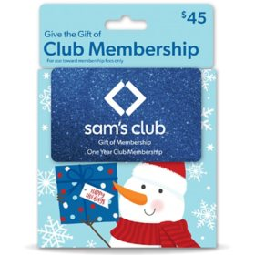 Gift of Membership - Various Amounts (Snowman)