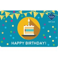 Sam's Club Happy Birthday Gift Card - Various Amounts