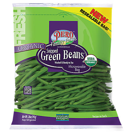 Organic Snipped Green Beans (28 oz.)