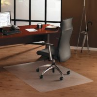 Floortex Cleartex Ultimate Polycarbonate Chair Mat for High Pile Carpets, 60 x 48