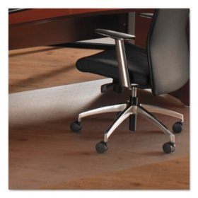 Floortex Cleartex Ultimate XXL Polycarbonate Chair Mat For Hard Floors, 60 x 79