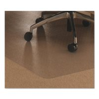 Floortex Cleartex Ultimate Polycarbonate Chair Mat For Low/Medium Pile Carpet, 48 x 79