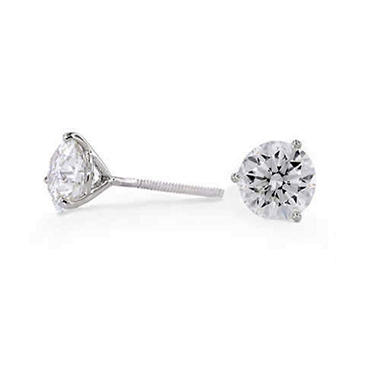 3.09 ct. t.w. Diamond Ear Studs (H, SI2)