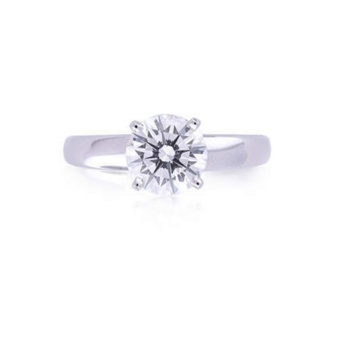 1.17 ct. Diamond Solitaire Ring (G, VS2)
