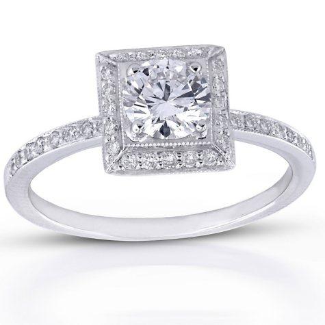 .68 ct. t.w. Round Diamond Ring (G, VS1)