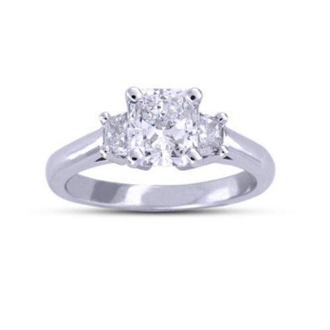 1.79 ct. t.w. Radiant-Cut Diamond Ring (F, SI2)